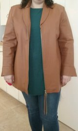 Women's leather jacket - 1X  Suzanne Somers collection in Conroe, Texas