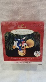 Hallmark Ornament - 1999 Disney - Donald Plays the Cymbals in Glendale Heights, Illinois