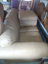 leather couch and automan in Fort Polk, Louisiana
