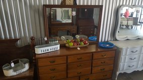 8 DRAWER WOOD DRESSER in Camp Lejeune, North Carolina
