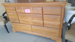 OAK WOOD DRESSER in Camp Lejeune, North Carolina