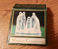 Small 7 pc. Glass Nativity set in St. Charles, Illinois