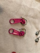 Earrings - Zipper-tag in Ramstein, Germany