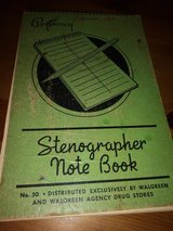Vintage notebook in Spring, Texas