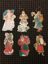 VICTORIAN STYLE SANTA ORNAMENTS in St. Charles, Illinois