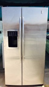 GE Profile Stainless Steel Side by Side Refrigerator in Camp Pendleton, California