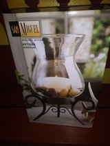 Glass candle holder in The Woodlands, Texas