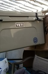Yeti 65qt Tan Cooler in Clarksville, Tennessee