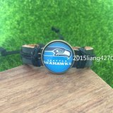 SEATTLE SEAHAWKS (Traditional Logo) Leather Bracelet *** NEW *** in Tacoma, Washington