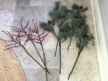 POTTERY BARN Faux Holiday Florals - 7 Stems in Plainfield, Illinois