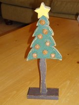 """12"""" wood jingle bell tree in Chicago, Illinois"""