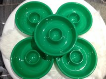 3 Green Chip n Dip Cookies Party Platter Plate in Clarksville, Tennessee