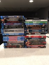 BLU-RAY MOVIE LOT in Algonquin, Illinois