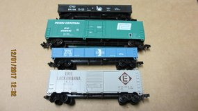 4 Atlas N-Scale Model Railroad cars in Lawton, Oklahoma