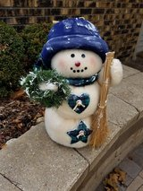 "18"" Holiday Snowman in St. Charles, Illinois"