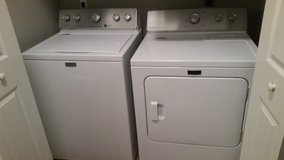 Washer + Dryer Set (Maytag, Like New) in Pasadena, Texas