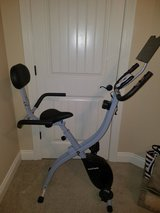 Folding Upright Bike with Backrest and iPad/Android Tablet Holder in Fort Polk, Louisiana