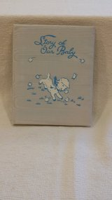 SALE - VINTAGE - 1949 - Sanitoy Blue Baby Book in Aurora, Illinois