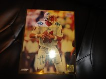 drew bledsoe autographed photo new england patriots in Fort Campbell, Kentucky