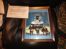 John lennon hand silk screened print. with coa signed by yoko ono in Fort Campbell, Kentucky