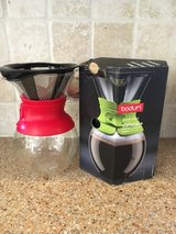 Bodum pour over coffee maker in Aurora, Illinois