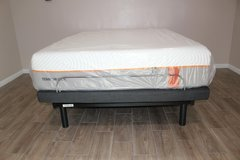 Queen Adjustable Bed w/Mattress in Spring, Texas