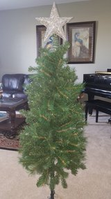 Christmas tree with in Aurora, Illinois