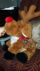 Christmas stuffed reindeer in Aurora, Illinois