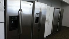 Many Stainless Steel Refrigerators in Camp Pendleton, California