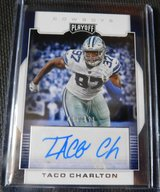 TACO CHARLTON DALLAS COWBOYS AUTOGRAPH 95/199 in Fort Bliss, Texas