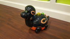 Bears moving musical dragon toy in Morris, Illinois
