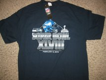 """SEATTLE SEAHAWKS XLVIII """"NFL Apparel""""  Adult T-Shirts (4 sizes) *** NEW *** in Fort Lewis, Washington"""