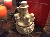 Musical Porcelain SnowMan in Warner Robins, Georgia