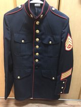 41L blues coat with anodized buttons in Okinawa, Japan