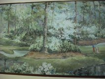 Wallpaper border golf course theme in Glendale Heights, Illinois