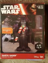 Star Wars Inflatable X-Mas Decorations (New in Box) in Schaumburg, Illinois