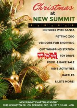Christmas at New Summit in Fort Carson, Colorado