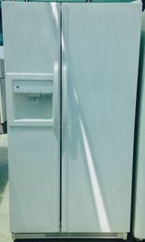 GE White Double Door Side by Side Refrigerator in Camp Pendleton, California