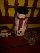 Snowman decor/Christmas in Houston, Texas