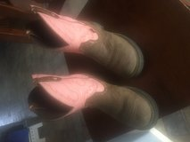 Justin cowgirl boots in Camp Pendleton, California