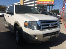 2010 Ford Expedition ((Eddie Bauer)). Pearl White Nice!!! in Kingwood, Texas