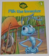 New RARE Vintage 1998 Disney A Bugs Life Flik The Inventor Hard Cover Book Age 6 - 11 Grade 1st ... in Morris, Illinois