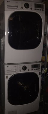 LG Front Load Washer & Dryer - Washer needs a repair in St. Charles, Illinois