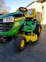 2015 John deer D130. 114 hours of use . 22HP Briggs and Stratton. Mint condition in Joliet, Illinois