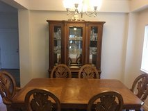 solid wood formal dining room set in Fort Lewis, Washington