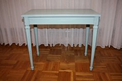 Vintage Shabby Chic Blue Table / Bench in Ramstein, Germany