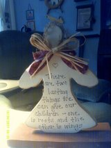 Handcraft Angel With Saying in Camp Lejeune, North Carolina