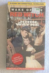 Sealed {JOHN WAYNE - WAKE OF THE RED WITCH} Vhs Tape in 29 Palms, California