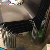 stackable chairs in Fort Leavenworth, Kansas