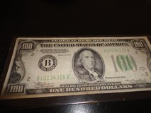 1934a $100 note in Fort Campbell, Kentucky